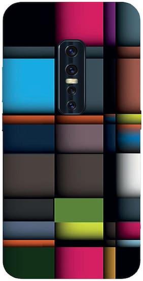 INC STORE Silicone Back Cover For Vivo V17 Pro ( Multi )