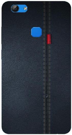 9T9 Online Silicone Back Cover For Vivo V7 ( Multi )