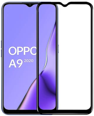 Backlund 11D Edge To Edge Tempered Glass for Oppo A9 2020;Oppo A5 2020;Realme Narzo 10;Realme Narzo 10A;Realme 5;Realme 5s;Realme 5i;Realme C3;Realme C11;Realme C12;Realme C15 (Pack of 1)