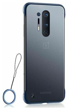 ACCESORIES LEGACY Plastic & Polycarbonate Back Cover & Hard Back Cover For OnePlus 8 Pro ( Blue )