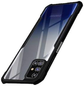 ACCESORIES LEGACY Plastic Back Cover For Samsung Galaxy M31s ( Black )