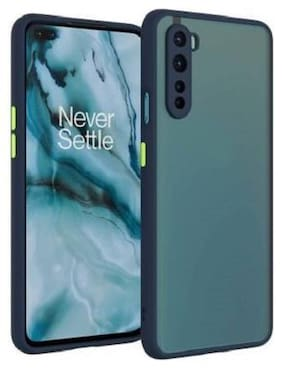 ACCESORIES LEGACY Plastic Back Cover For OnePlus Nord ( Blue )