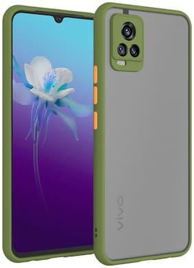 ACCESORIES LEGACY Plastic Back Cover For Vivo V20 Pro ( Green )