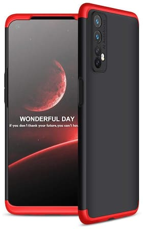 ACCESORIES LEGACY Plastic Back Cover For Realme 7 ( Red )