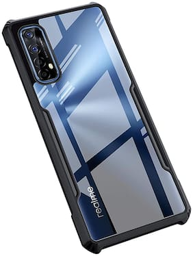 ACCESORIES LEGACY Plastic Back Cover For Realme Narzo 20 Pro ( Black )