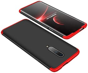 ACCESORIES LEGACY Polycarbonate Back Cover For OnePlus 7 Pro ( Red )