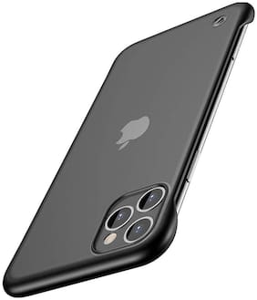 ACCESORIES LEGACY Polycarbonate Back Cover For Apple iPhone 12 Mini ( Black )