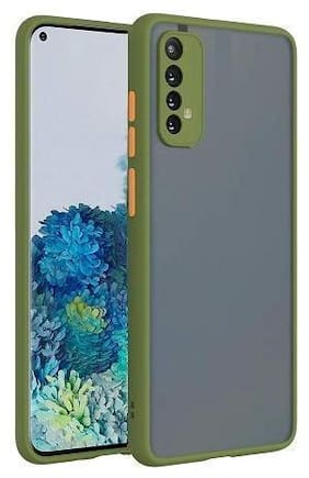 ACCESORIES LEGACY Plastic Back Cover For Redmi 9 Power ( Green )