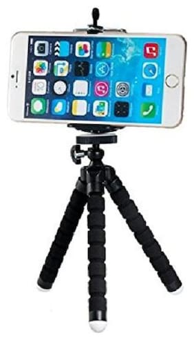 Backlund Flexible Mini TriPod ( 6 Inch Height) For Camera, Dslr And Smartphones With Universal Mobile Attachment