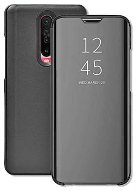 ACCESORIES LEGACY  Flip Cover For Mi Note 10 Pro (Black)