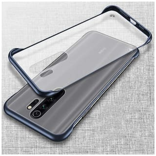 ACCESORIES LEGACY Plastic & Polycarbonate Back Cover & Hard Back Cover For Redmi Note 8 Pro ( Blue )