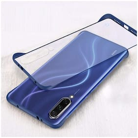 BACKLUND Polycarbonate Back Cover For Mi A3 & Redmi A3 ( Blue )