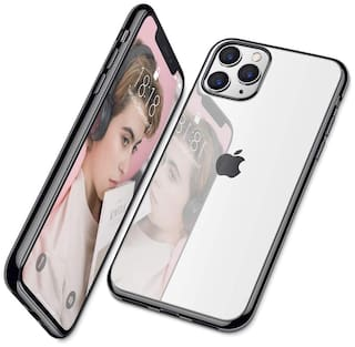Apple iPhone 11 Pro Plastic & Polycarbonate Back Cover & Hard Back Cover By ACCESORIES LEGACY ( Black )