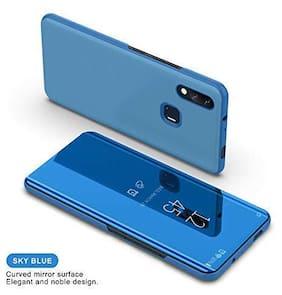ACCESORIES LEGACY Glass Back Cover & Flip Cover For Xiaomi Redmi 7 & Xiaomi Redmi Y3 ( Blue )