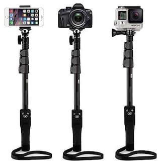 Backlund Monopods & Selfie Sticks (YT-1288 Professional Monopod Selfie Stick with Bluetooth Shutter)