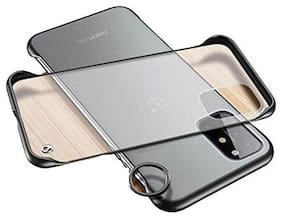 Backlund OnePlus 8T;1+8T Back Cover;Ultra Thin Frameless Matte Hard Shockproof TPU Bumper Back Case for OnePlus 8T;1+8T