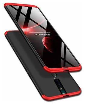 BACKLUND Plastic & Polycarbonate Back Cover & Designer Back Cover For Oppo F11 Pro ( Red )