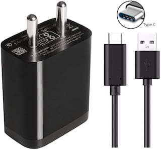 ACCESORIES LEGACY  Type C Fast Charger 18 Watt with Quick Charge 3.0 Support Compatible with Poco F1 and Mi Devices and Other Type C Android Smartphones