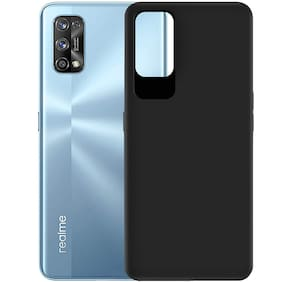 ACCESORIES LEGACY Rubber Back Cover For Realme 7 Pro ( Black )