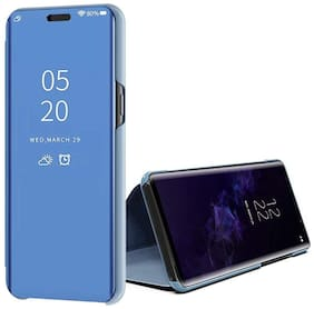 ACCESORIES LEGACY Glass & Plastic Back Cover For Realme Xt & Realme X2 ( Blue )