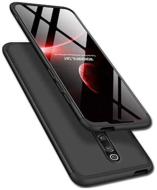 Redmi K20 & Xiaomi Redmi K20 Pro Plastic & Polycarbonate Back Cover By ACCESORIES LEGACY ( Black )