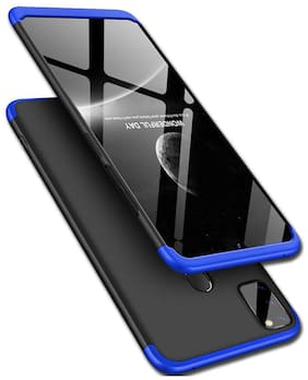 ACCESORIES LEGACY Plastic & Polycarbonate Back Cover & Flip Cover For Samsung Galaxy M30s & Samsung Galaxy M21 ( Blue )