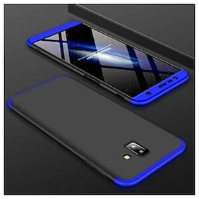 ACCESORIES LEGACY Plastic Back Cover For Samsung Galaxy J6 Plus ( Blue )