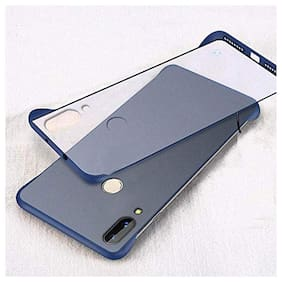 BACKLUND Hard Case Back Cover For Xiaomi Redmi 7 & Xiaomi Redmi Y3 ( Blue )