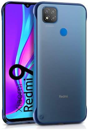 BACKLUND Polycarbonate Back Cover For Xiaomi Redmi 9 ( Blue )