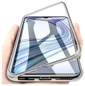 ACCESORIES LEGACY Glass & Metal Back Cover For Vivo V15 Pro ( Silver )