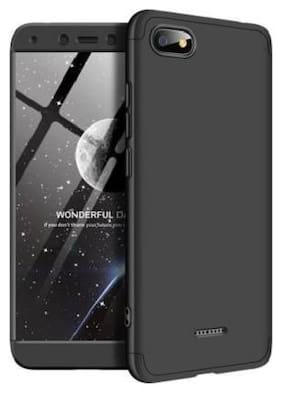 ACCESORIES LEGACY Plastic & Polycarbonate Back Cover & Flip Cover For Redmi 6A ( Black )