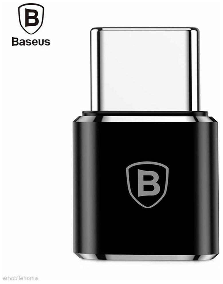 Baseus Mini OTG Male Type C to Female Micro USB Converter Charging Data Adapter