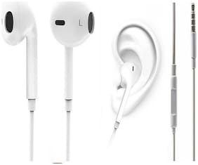 Bazaartrick A7 In-ear Wired Headphone ( White )