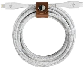 Belkin Data & Charging Type-C to 8 Pin (Lightning) Cable ( 1 m , White )