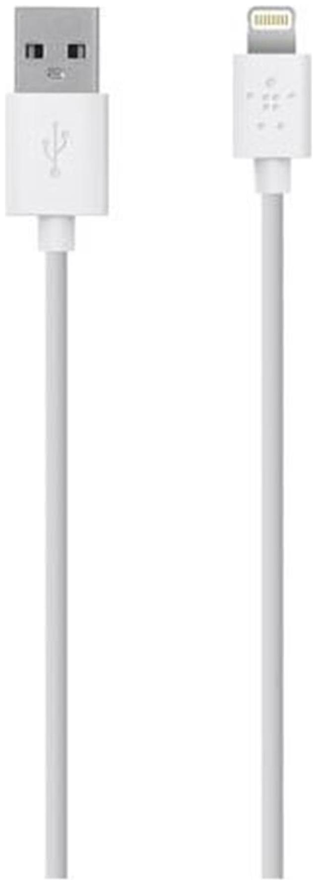 Belkin MIX IT Lightning Sync/Charge cable, 1.2m, 4ft, White
