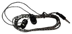 Benison India HFK12 In-Ear Wired Headphone ( Grey & Black )