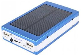 Benison India BNSPWR-45 13000 mAh Solar Fast Charging Power Bank - Blue