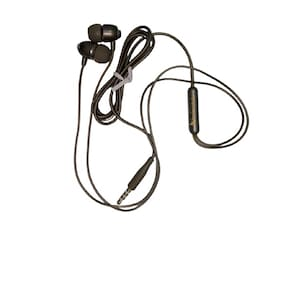 Benison India HFk12A In-Ear Wired Headphone ( Black )