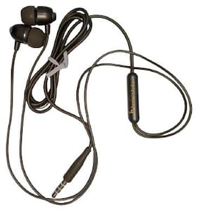 Benison India In-Ear Wired Headphone ( Black )