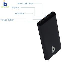 Benison India BPB35 10000 mAh Power Bank - Black
