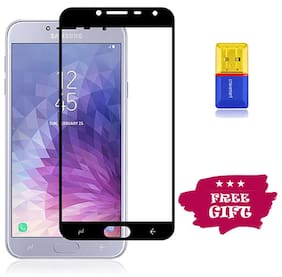 Best Selling Samsung Galaxy J4 6D Tempered Glass by Tempered Glasses Get a Memory Card Reader Free