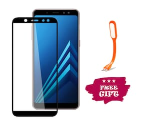 TEMPERED GLASSES Edge To Edge Tempered Glass For Samsung Galaxy A6