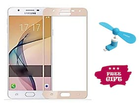 TEMPERED GLASSES Edge To Edge Tempered Glass For Samsung Galaxy J7 Nxt