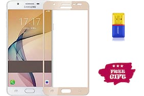 Best Selling Samsung Galaxy J7 Prime 6D Tempered Glass by Tempered Glasses Get a Memory Card Reader Free