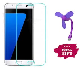 Best Selling Samsung Galaxy S7 6D Tempered Glass by Tempered Glasses USB Fan Free