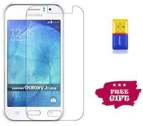 Best Selling Samsung Galaxy J1 Ace 6D Tempered Glass by Tempered Glasses Get a Memory Card Reader Free