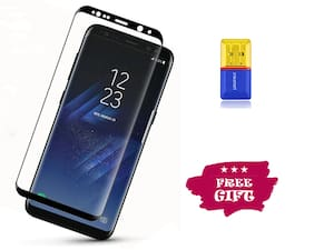 Best Selling Samsung Galaxy S9 Plus 6D Tempered Glass by Tempered Glasses Get a Memory Card Reader Free