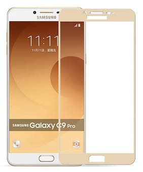 Best Selling Samsung Galaxy C9 Pro 6D Tempered Glass by Tempered Glasses Best Quality