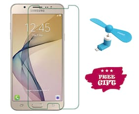 TEMPERED GLASSES Edge To Edge Tempered Glass For Samsung Galaxy J7 Prime