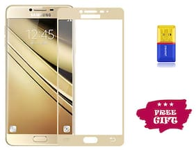 Best Selling Samsung Galaxy J7 Pro 6D Tempered Glass by Tempered Glasses Get a Memory Card Reader Free